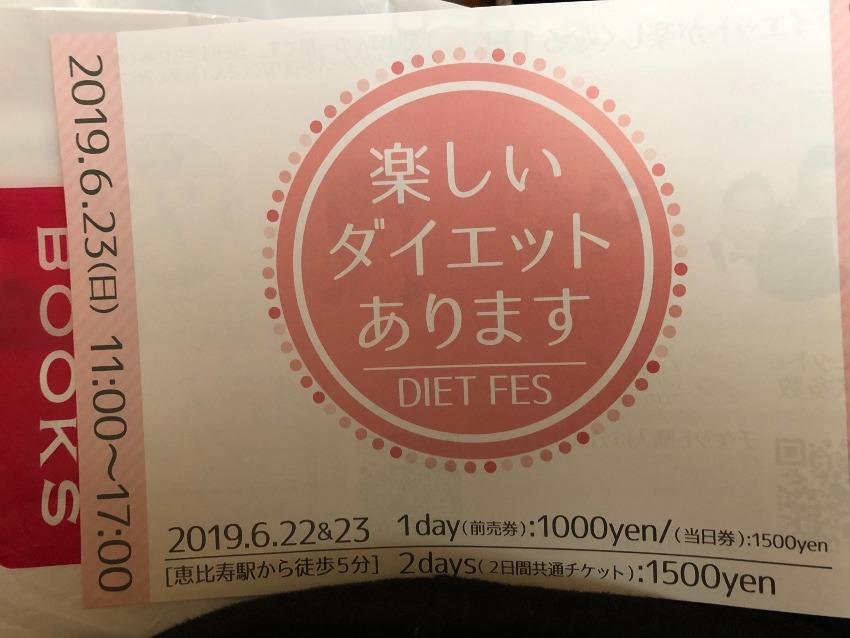 ダイエットフェスチケットプレゼント